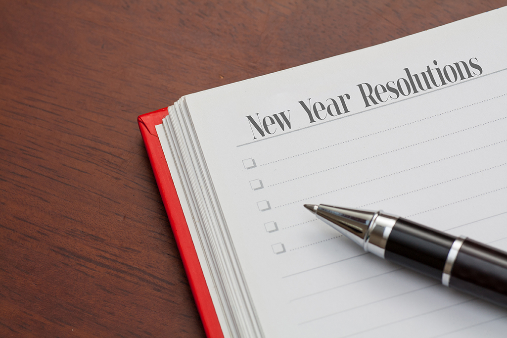 New Year Resolutions check list